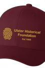 Ulster Historical Foundation Baseball Cap – Maroon