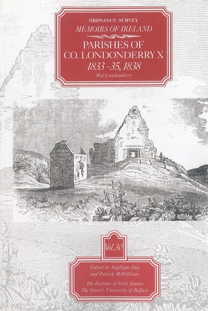 The Ordnance Survey Memoirs; a Source for Emigration in the 1830s
