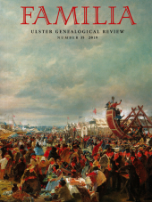 Familia: Ulster Genealogical Review, No. 35, 2019