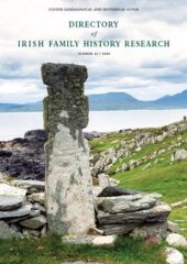 Directory of Irish Family History Research, No. 43, 2020